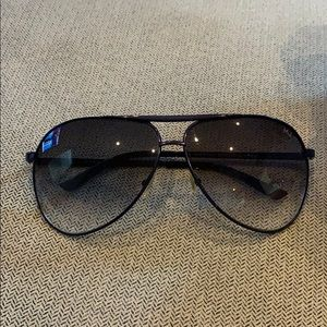 Marc Jacobs Aviator Sunglasses - Blue Frame & Lens